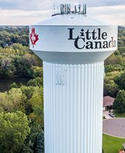 Little Canada's Water Tower