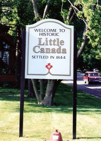 Little Canada Historical Society Sign
